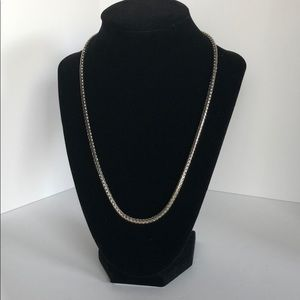 """NWOT 20"""" Silver like chain with magnetic closure"""